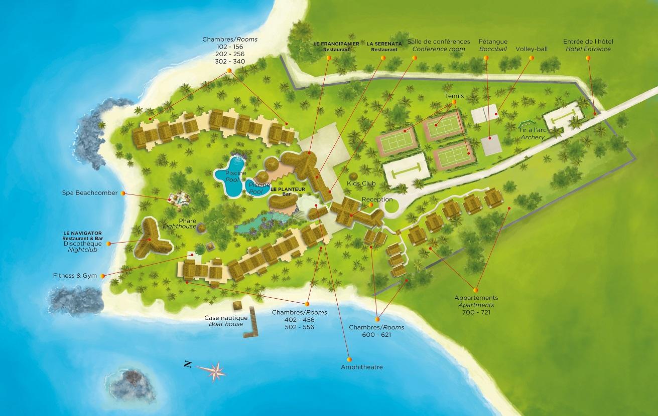 Mauritius  Superior Hotel Beachcomber
