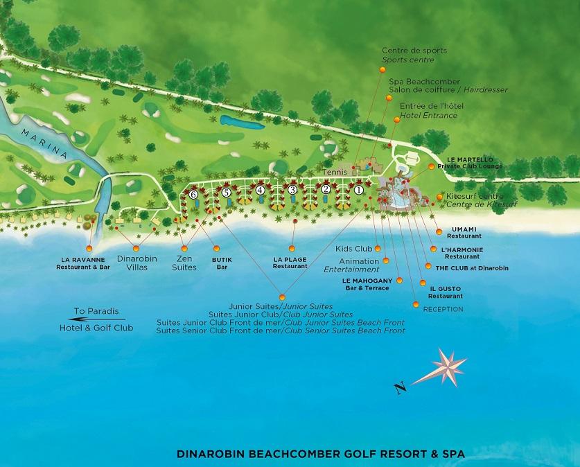 Beachcomber Dinarobin Hotel Golf And Spa Hotel