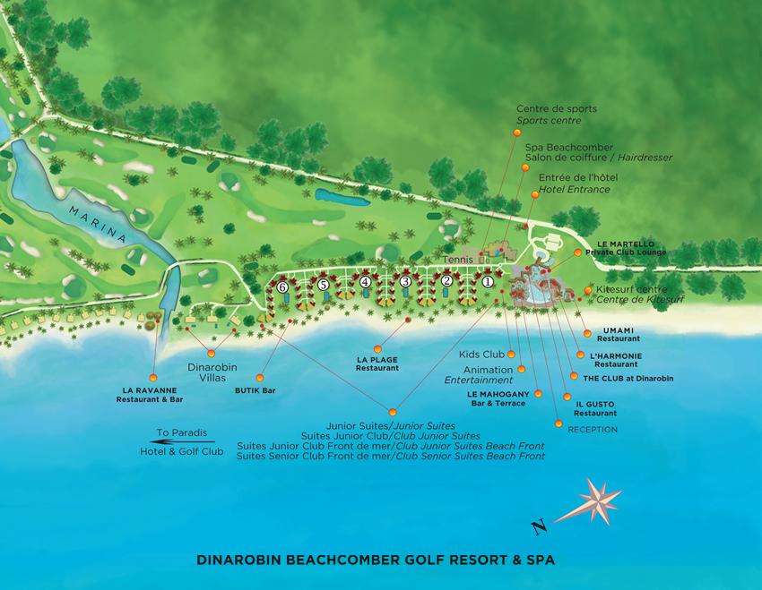Dinarobin Golf Resort Amp Spa Mauritius Holidays